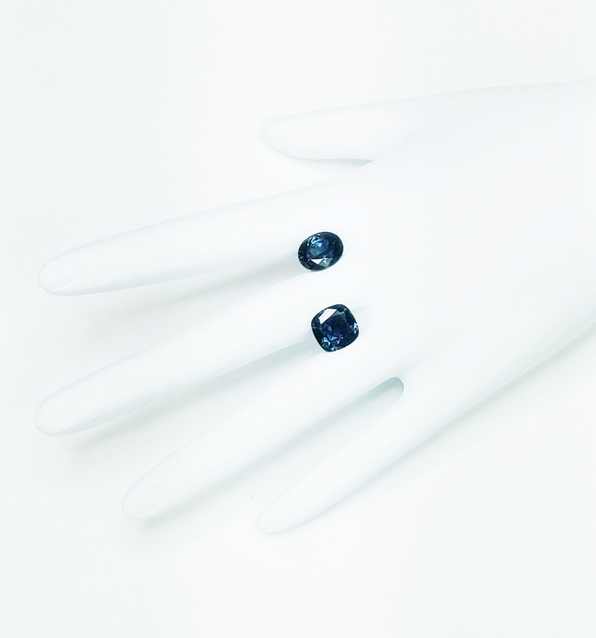 Trendy Teal Sapphires