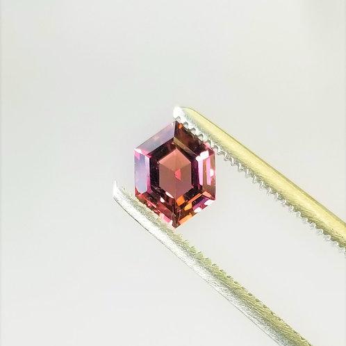 Bi-Color Tourmaline 0.91 ct