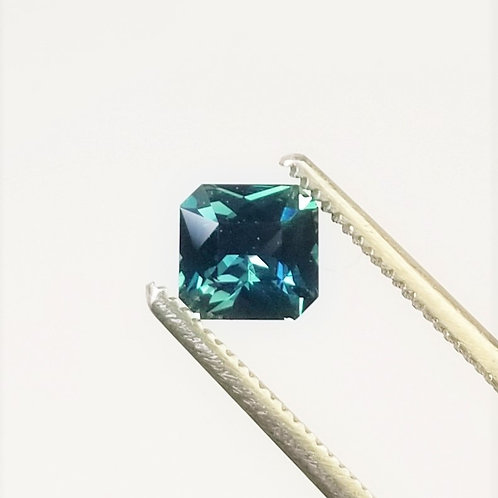 Teal Sapphire 0.86 ct
