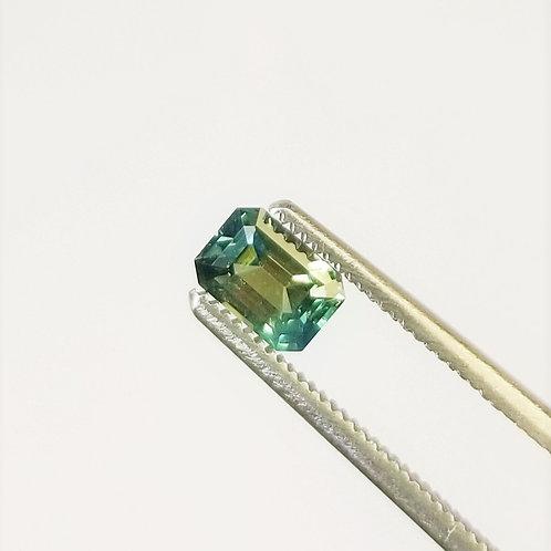 Bi-Color Sapphire 0.86 ct