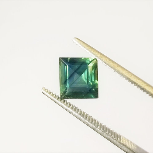 Teal Sapphire 2.68 ct