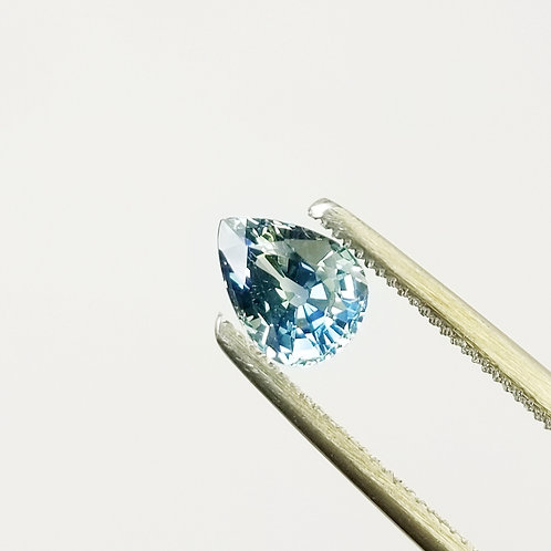 Teal Sapphire 1.13 ct