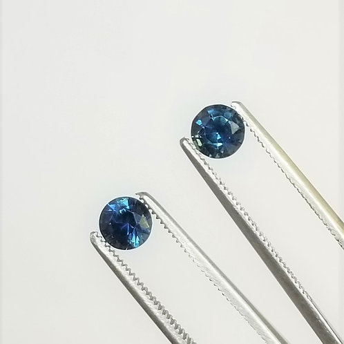 Teal Sapphire 1.47 cttw