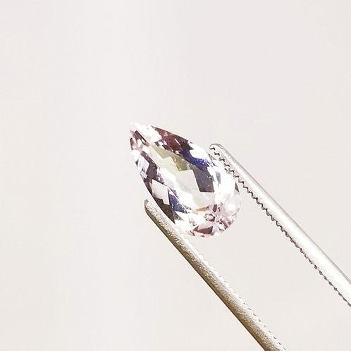 Pink Morganite Pear 1.74 ct