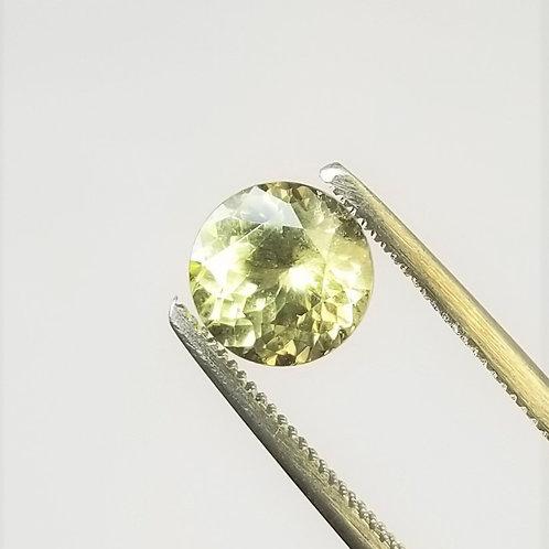 Green Sapphire 2.32 ct