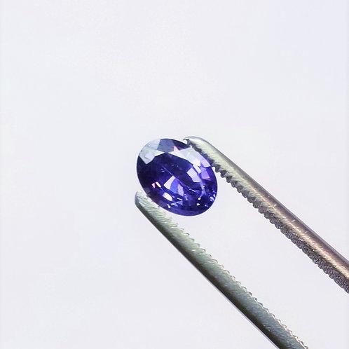 Purple Sapphire 0.99 ct