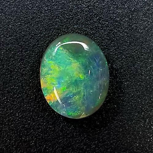 Australian Black Opal 5.72 ct