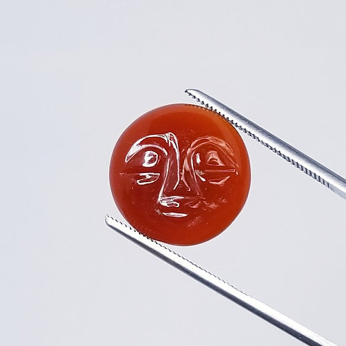 Carved Carnelian 11.00 ct