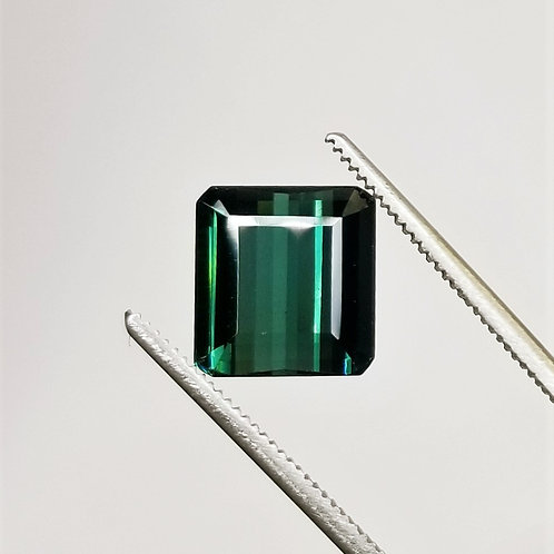 Teal Tourmaline 3.98 ct