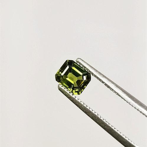 Green Sapphire 0.92 ct