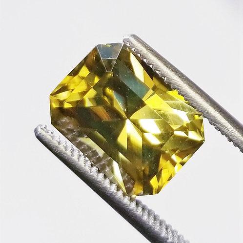 Golden Zircon 6.10 ct