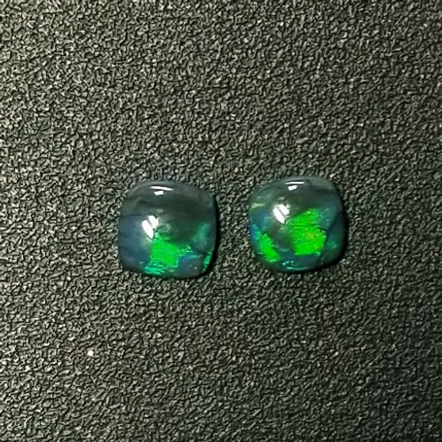 Australian Black Opal 0.92 cttw