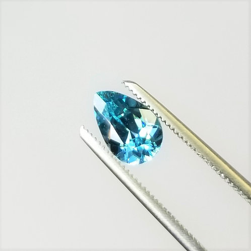 Blue Zircon 2.42 ct