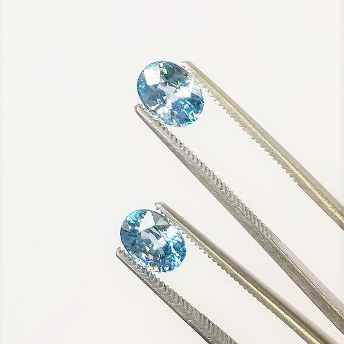 Blue Zircon 4.64 cttw