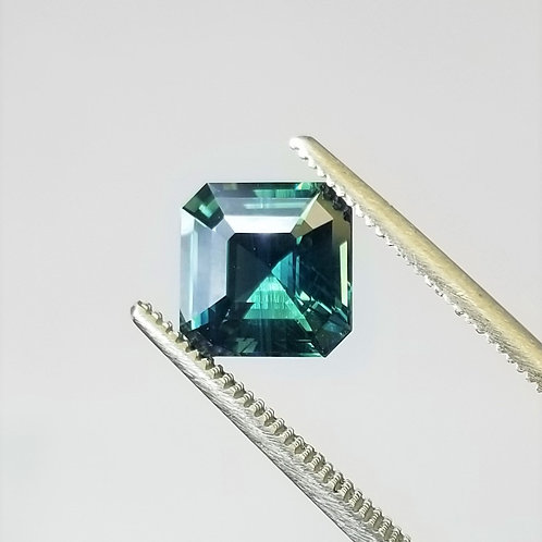 Teal Sapphire 3.00 ct