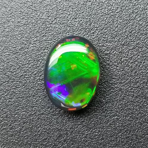 Australian Black Opal 3.51 ct