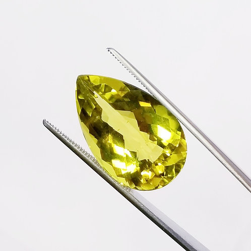 Lime Quartz 25.67 ct