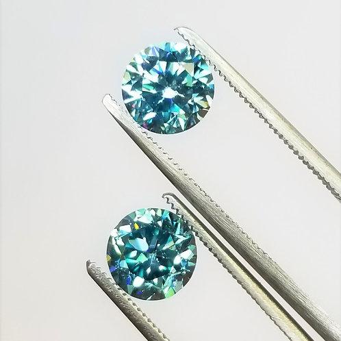 Blue Zircon 5.60 cttw