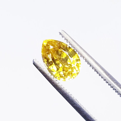 Yellow Zircon 2.35 ct