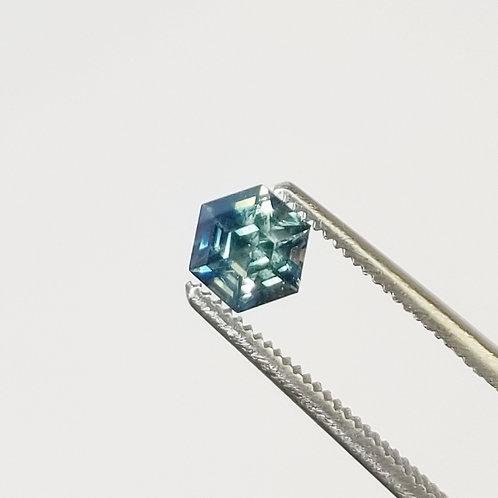 Bi-Color Sapphire 0.97 ct