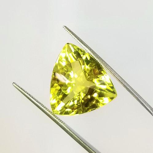 Lime Quartz 26.93 ct