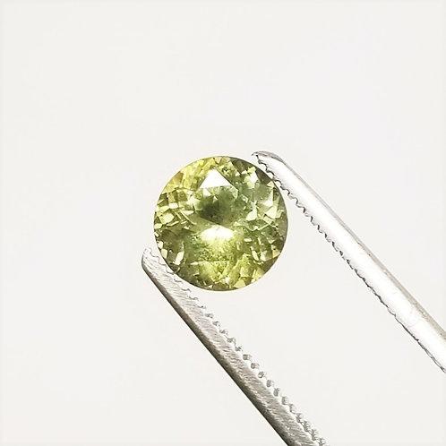 Green Sapphire 2.01 ct