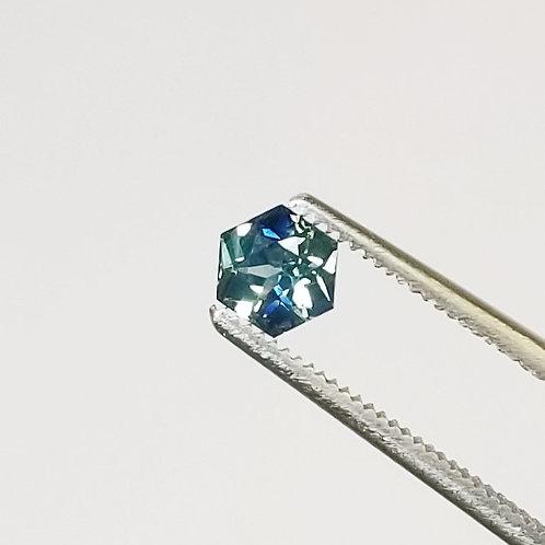 Bi-Color Sapphire 0.77 ct