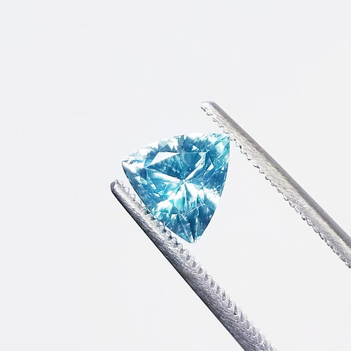 Blue Zircon 2.38 ct