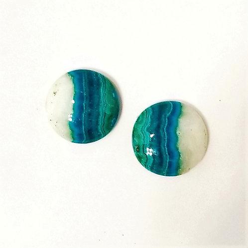Chrysocolla-Malachite 8.21 cttw