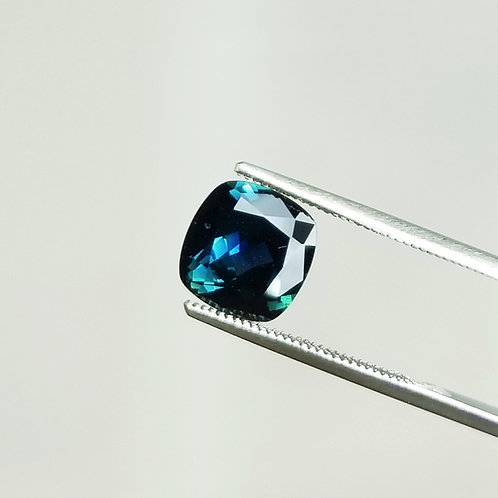 Teal Sapphire 3.48 ct