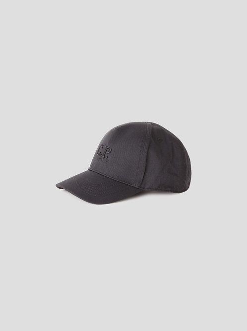 Logo Cap in Black