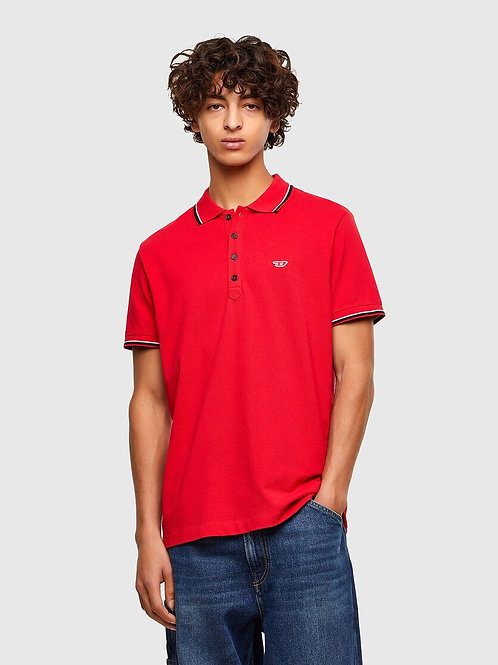 Piquet Polo in Red