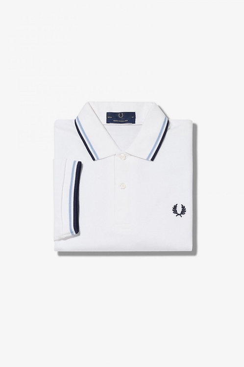 M12 Twin Tipped Shirt In White