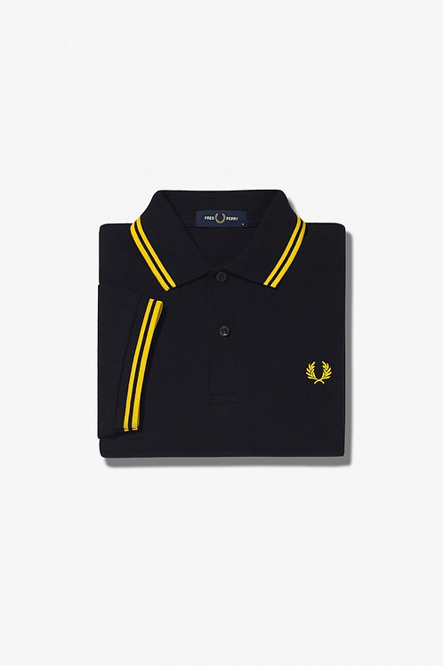 M3600 Twin Tipped Polo Black/Gold