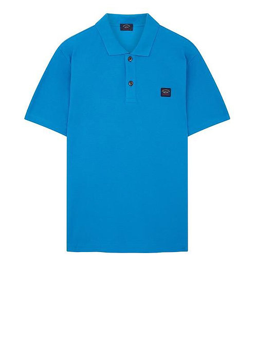 Chest Logo Polo In Blue