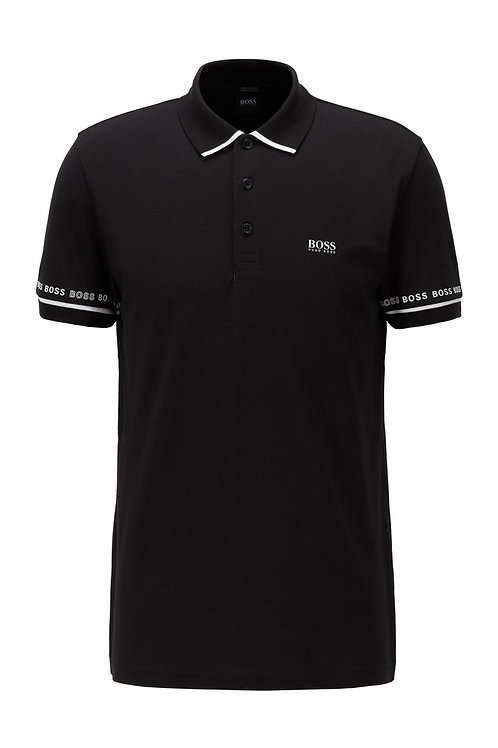Paddy 1 Polo Shirt In Black