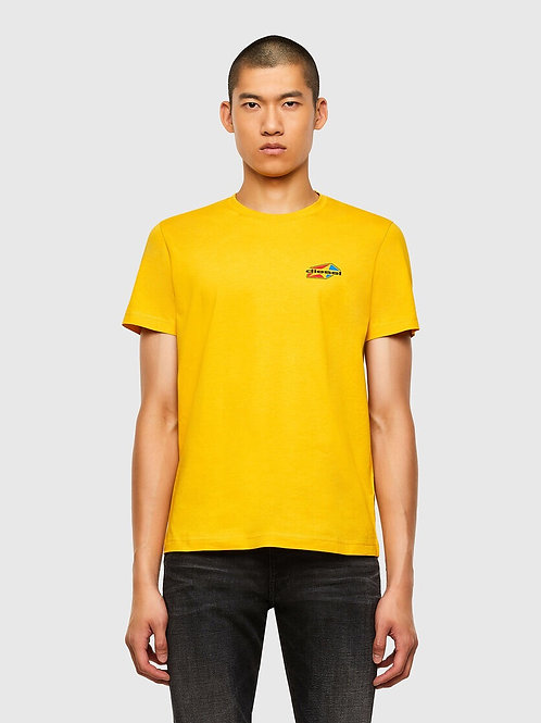 Star Logo T-Shirt in Yellow