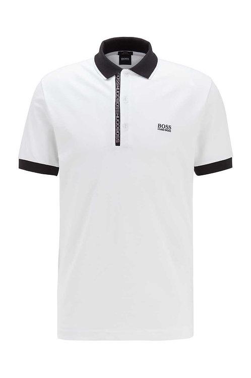 Paule 4 Polo in White