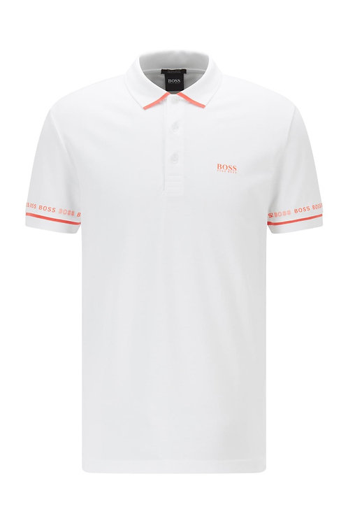 Paddy 1 Polo Shirt In White