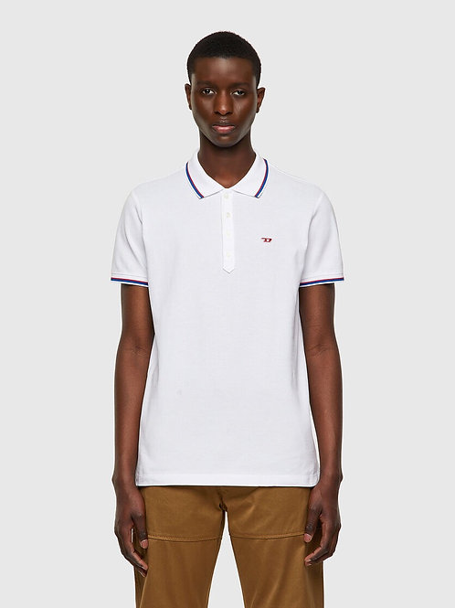 Piquet Polo in White