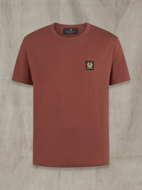 Badge T Burnished Red