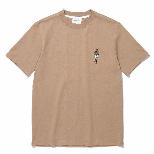 Johannes Orienteer T-shirt In Utility Khaki