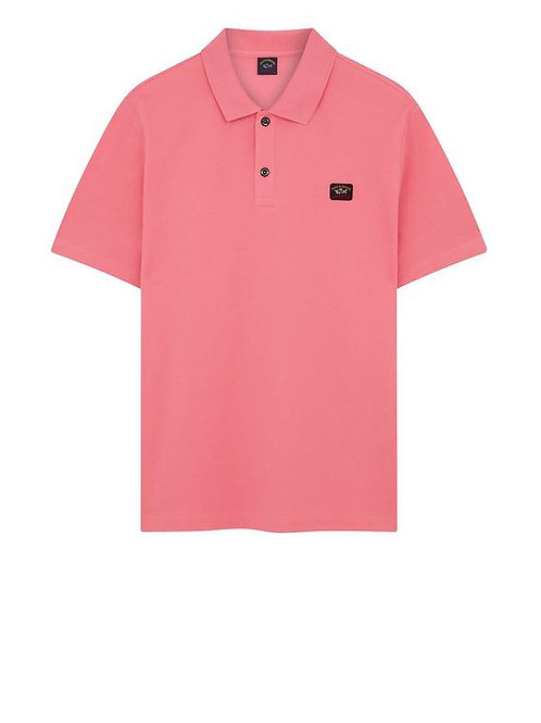 Chest Logo Polo In Pink