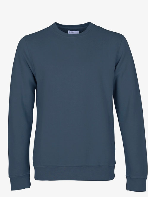 Colourful Standard Classic Crew in Petrol Blue