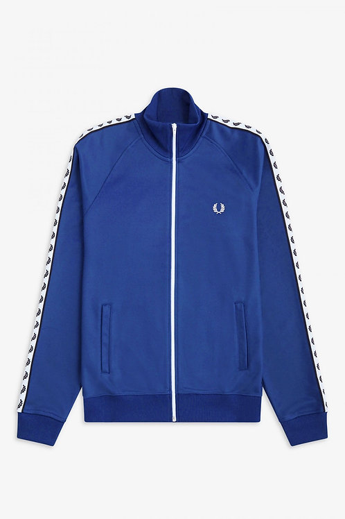 Taped Track Jacket Nautical Blue