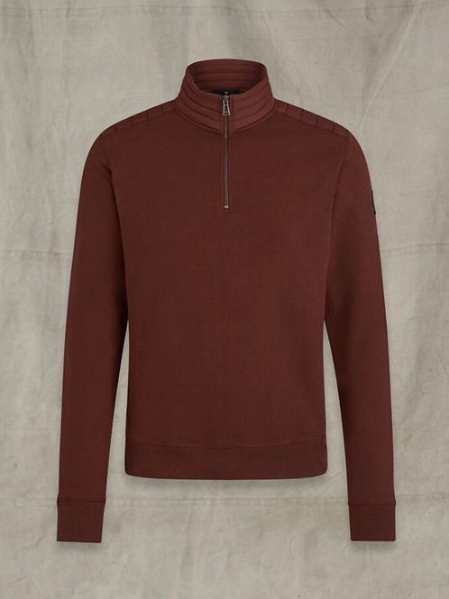 Jaxon Quarter Zip Red
