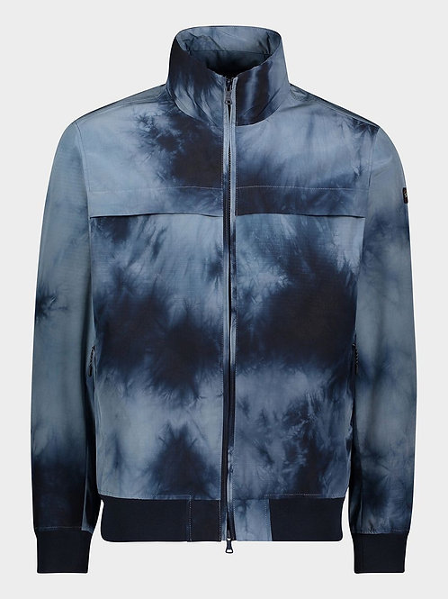 Tie Dyed Blouson in Storm
