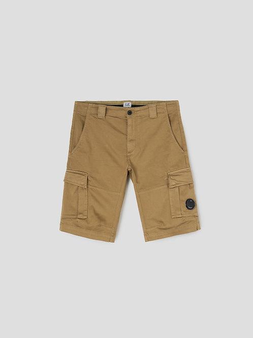 Lens Cargo Shorts in Cornstalk
