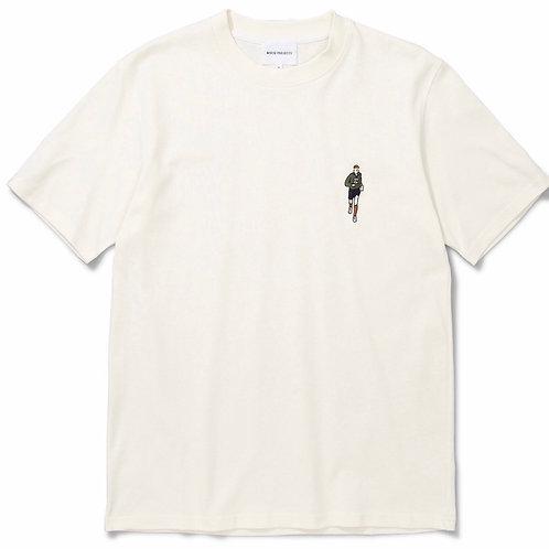 Johannes Orienteer T-Shirt In Ecru