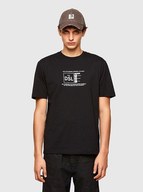 Reflective Logo T in Black
